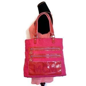 MCM Pink Shoulder Bag Authentic